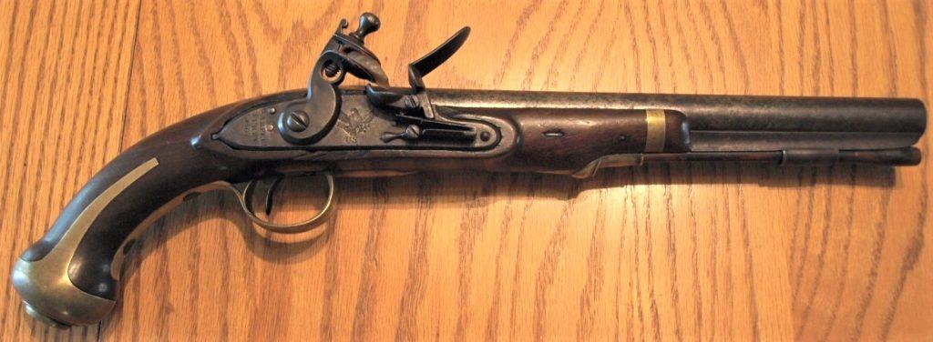 M1805 Harpers Ferry Flintlock Pistol